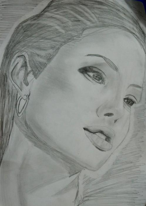 Angelina Jolie by Vinnysv